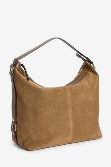 Next Leather Suede Shoulder Bag - 288574