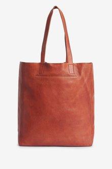 Next Leather Shopper Bag - 288599