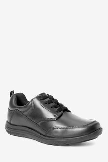 Next Leather Lace-Up Shoes (Older)-Narrow Fit - 288600