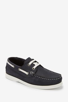 Next Leather Boat Shoes (Older) - 288619