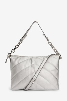 Next Quilted Chain Shoulder Bag - 288622