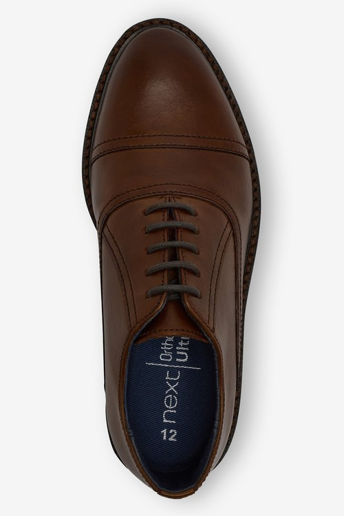 Next Leather Toe Cap Oxford Shoes (Older)