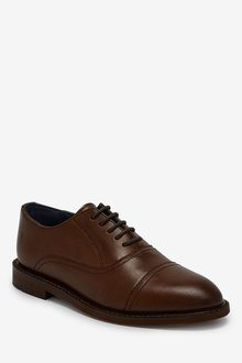 Next Leather Toe Cap Oxford Shoes (Older) - 288629