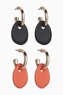 Next Matte Coated Mini Drop Earrings - 288720