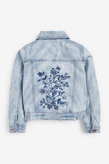 Next Tie Dye Embroidered Denim Jacket (3-16yrs) - 288732