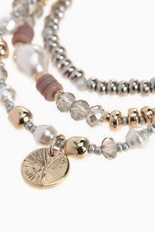 Next Pearl Effect Stretch Bracelet Pack - 288767