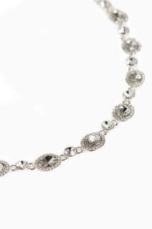 Next Pave Crystal Effect Short Necklace - 288793