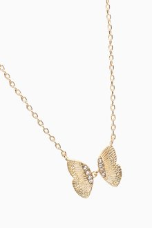 Next Delicate Butterfly Necklace - 288801