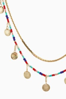 Next Colourful Beaded Multi Layer Necklace - 288805