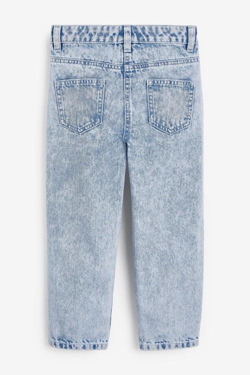 Next Barrel Jeans With Headband (3-16yrs)