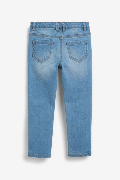 Next Heatseal Star Skinny Jeans (3-16yrs)