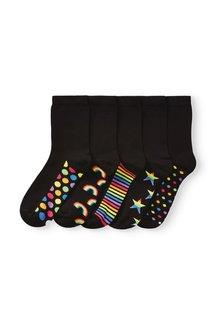 Next Footbed Ankle Socks Five Pack - 288907