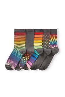 Next Ankle Socks Five Pack - 288910