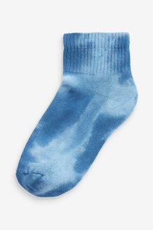 Next Tie Dye Ribbed Trainer Socks Two Pack - 288920