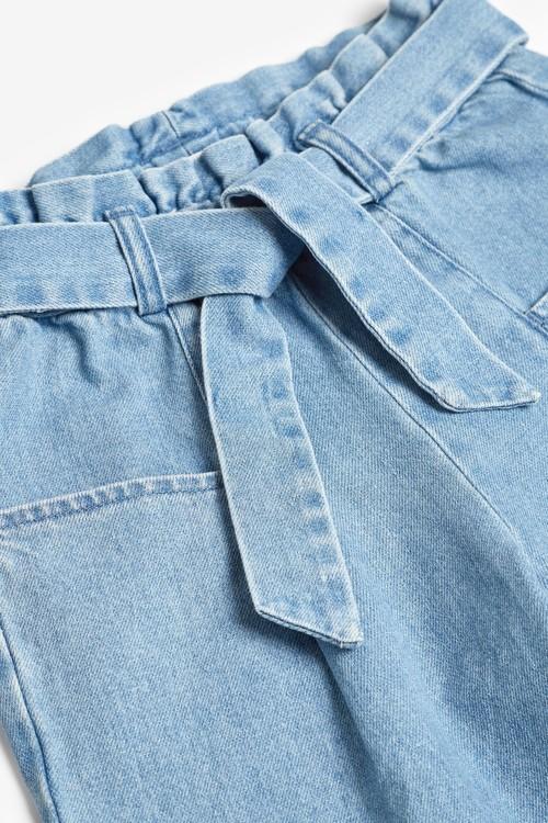 Next Wide Leg Tie Waist Jeans (3-16yrs)
