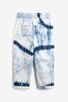 Next Tie Dye Gathered Waist Jeans (3-16yrs) - 288936