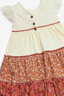 Next Mix Print Dress (3mths-7yrs) - 288973