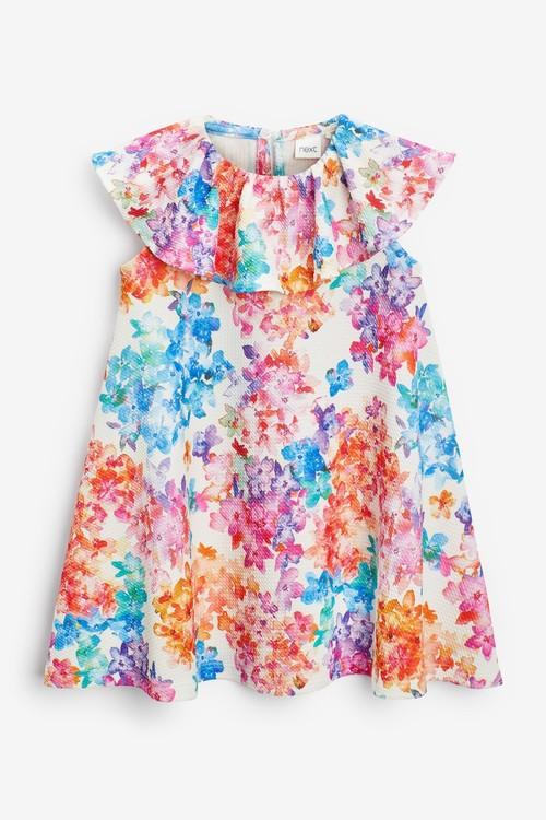 Next Bright Floral Dress (3mths-7yrs)