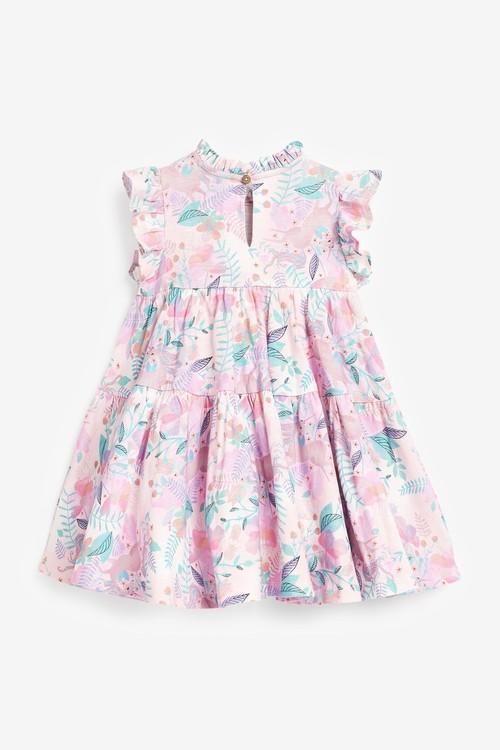 Next GOTS Organic Tier Jersey Dress (3mths-7yrs)