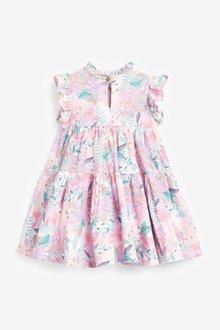 Next GOTS Organic Tier Jersey Dress (3mths-7yrs) - 289036
