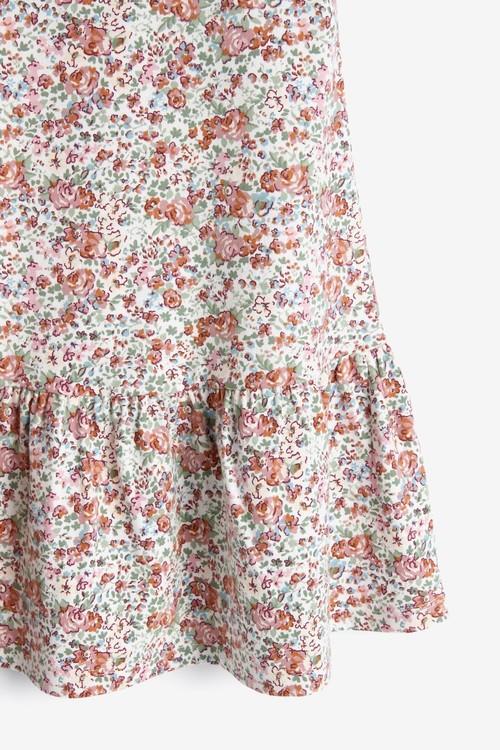 Next GOTS Organic Cotton Tier Jersey Dress (3mths-7yrs)