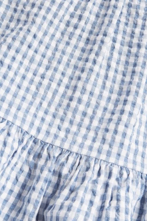 Next Organic Cotton Peplum Blouse (3-16yrs)