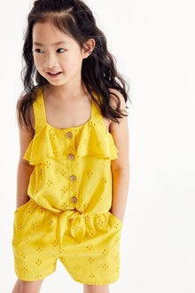 Next Cotton Co-Ord (3-16yrs)-Tie Front Blouse - 289216