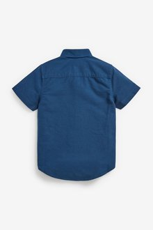 Next Short Sleeve Check Shirt (3-16yrs) - 289247