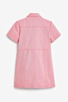 Next Fitted Denim Dress (3-16yrs) - 289250