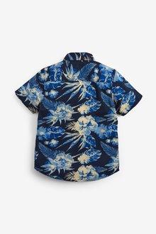 Next Patterned Shirt And T-Shirt Set (3-16yrs) - 289257