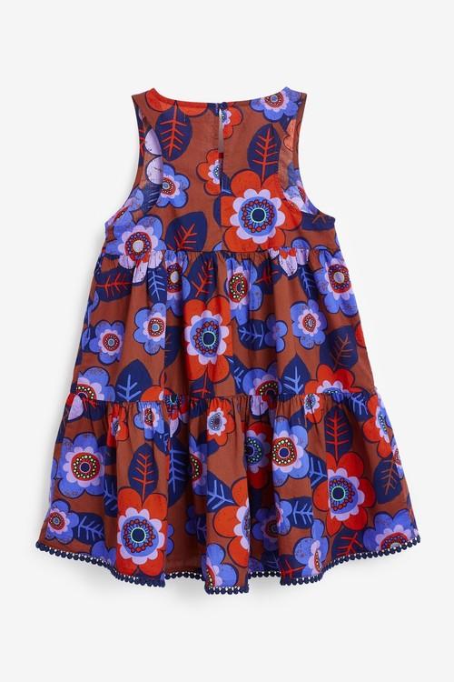 Next Racerback Tiered Dress (3-16yrs)