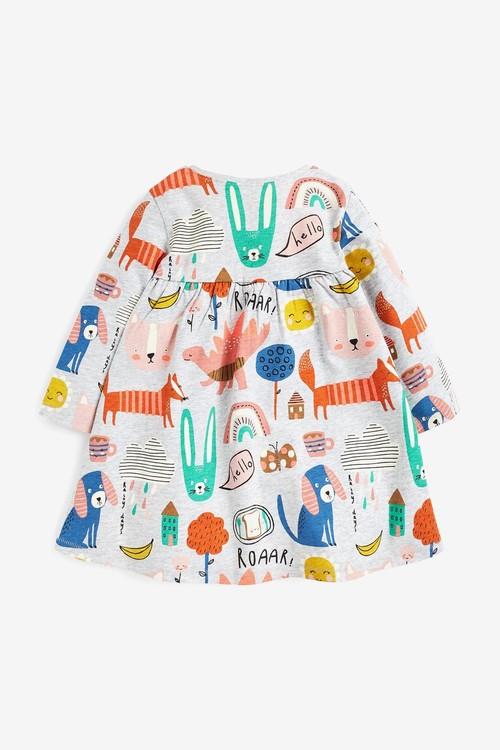 Next 4 Pack Dress, T-Shirt And Leggings Set (3mths-7yrs)
