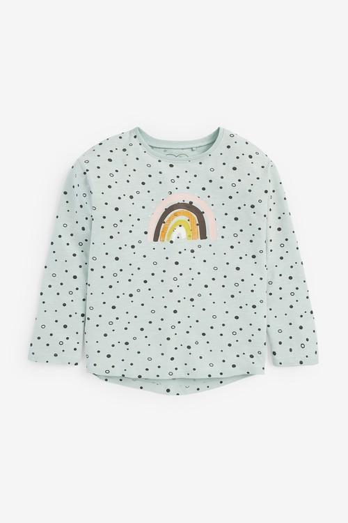 Next Unicorn Dress, T-Shirt And Leggings Bundle (3mths-7yrs)
