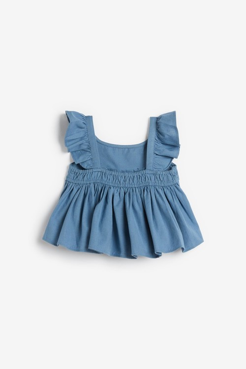 Next Frill Blouse And Shorts Co-ord Set (3mths-7yrs)