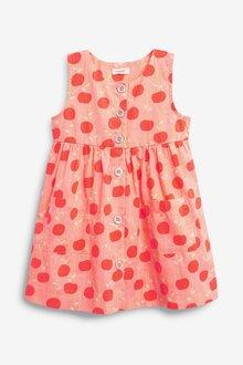 Next Printed Organic Cotton Dress (3mths-7yrs) - 289336