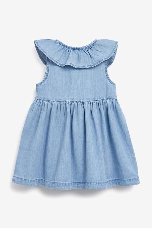 Next Sleeveless Frill Dress (3mths-7yrs)