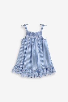 Next Embroidered Tiered Dress (3mths-7yrs) - 289363