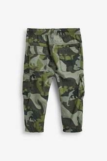 Next Lined Cargo Trousers (3mths - 289366