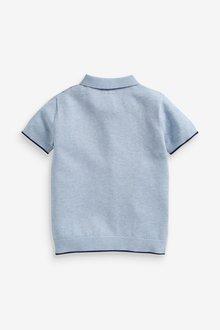 Next Knitted Argyle Poloshirt (3-16yrs) - 289370