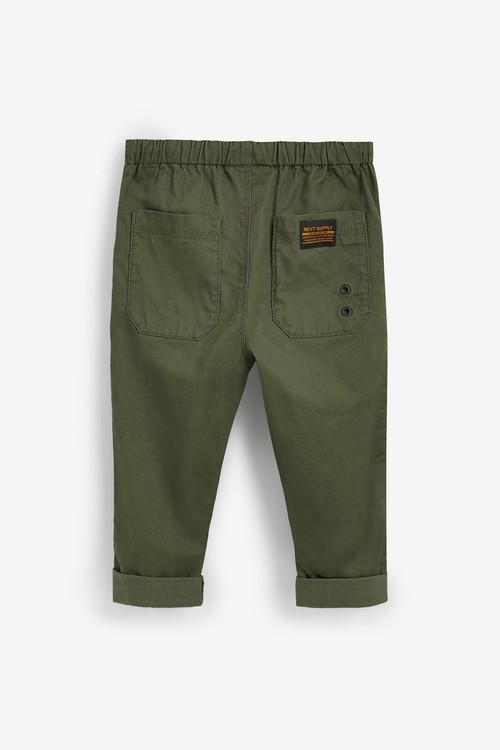 Next Loose Fit Utility Pull-On Trousers (3mths-7yrs)