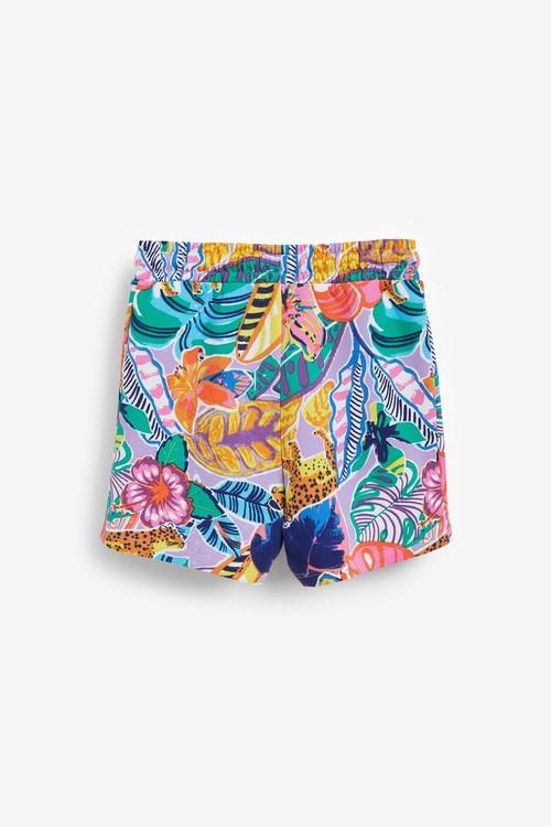 Next Organic Cotton Jersey Shorts (3-16yrs)