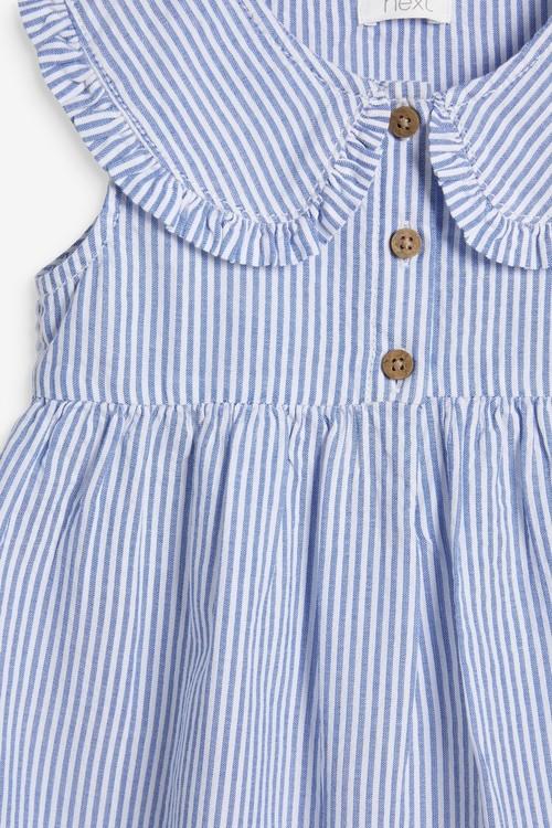 Next Stripe Collar Dress (3mths-7yrs)