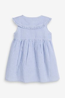 Next Stripe Collar Dress (3mths-7yrs) - 289386