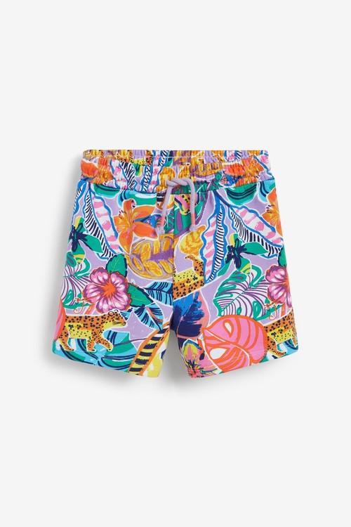 Next 3 Pack Organic Loopback Jersey Shorts (3-16yrs)
