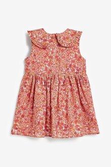 Next Shirred Cotton Collar Dress (3mths-7yrs) - 289401