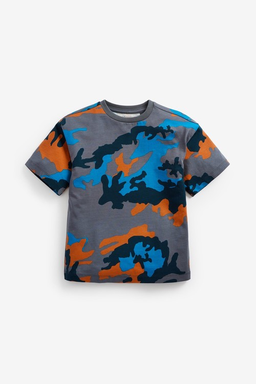 Next 3 Pack Camouflage Short Sleeve T-Shirts (3-16yrs)