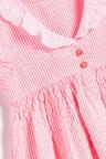 Next Lace Collar Stripe Dress (3mths-7yrs)