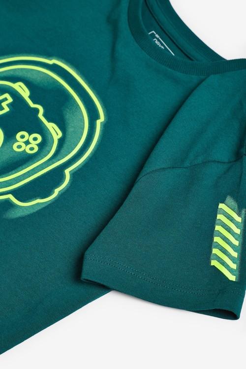 Next 3 Pack Gamer Short Sleeve T-Shirts (3-16yrs)