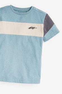 Next 2 Pack Colourblock T-Shirts (3-16yrs) - 289411