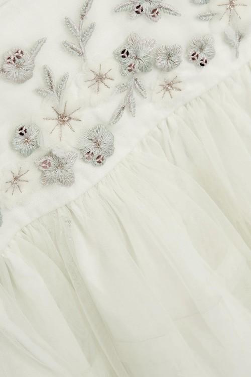 Next Embroidered Mesh Dress (3mths-7yrs)